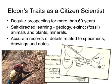 Eldon Traits of Citizen Scientist