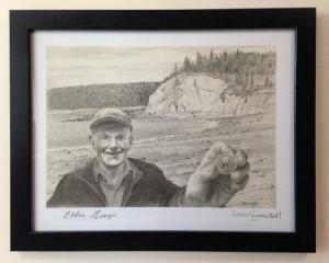 Tom Forrestall Portrait of Eldon George